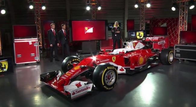 F1-2016-19-fevrier-Présentation-de-la-nouvelle-FERRARI-FH16-H