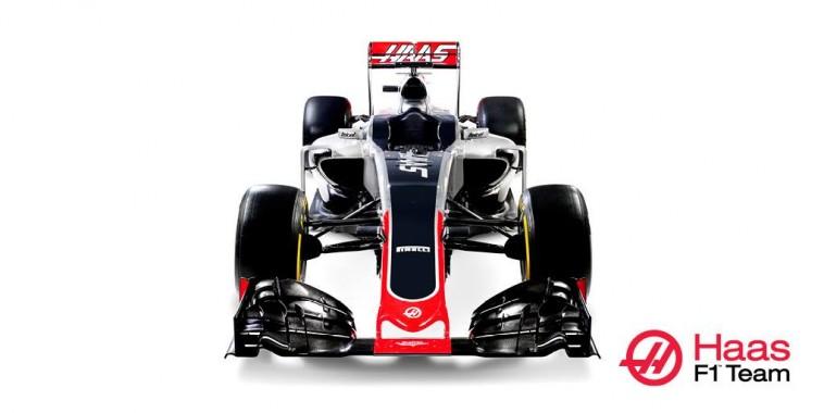 F1 2016 - La nouvelle monoplace HAAS GP