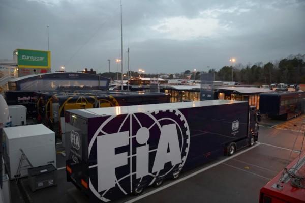 F1 2016 MONTMELO - 22 fevrier Le paddock Photo Antoine CAMBLOR