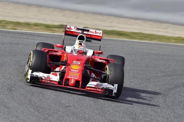 F1 2016 - MONTMELO - 24 fevrier - SEB VETTEL FERRARI - Photo Max MALKA