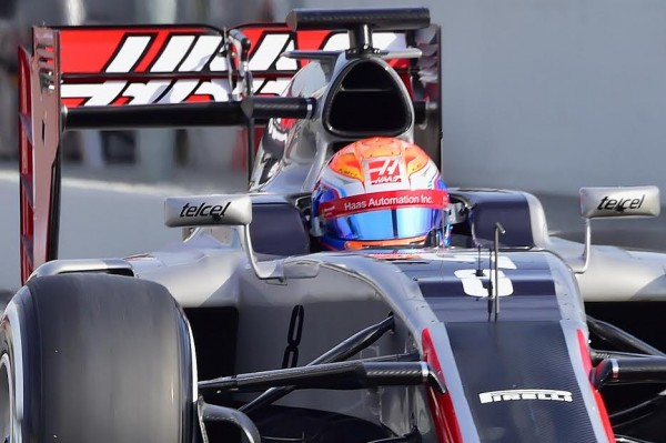 F1-2016-MONTMELO-Mercredi-24-fevrier-La-HAAS-de-Romain-GROSJEAN-Photo-Max-MALKA