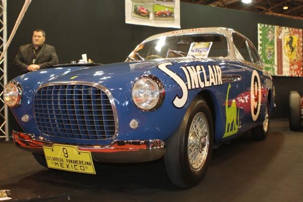 Ferrari Sinclair... sur quatre roues © Jacques SamAlens