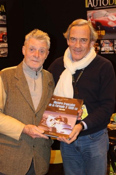 François Chevalier à Gérard Gamand... c'est aussi mon histoire la F3 © Jacques SamAlens