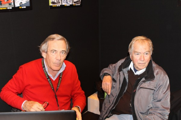 Gérard Gamand & Etienne Vigoureux parlent de F3 1000cc © Jacques SamAlens