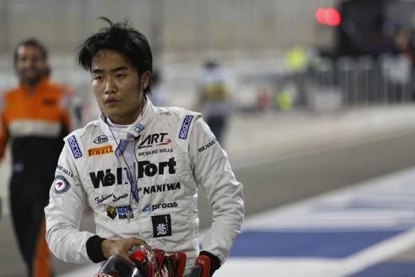 GP2-2015-SAKHIR-essai-le-3-avril-Nobuhoru MATSUSHITA