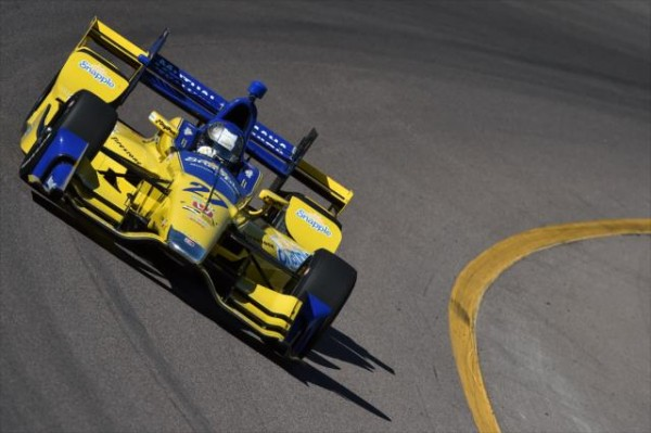 INDYCAR-2016-PHOENIX-Test-26-fevrier-MARCO-ANDRETTI.