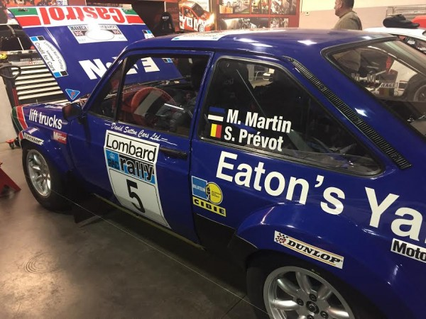 LEGEND BOUCLES 2016 La FORD de MARKKO MARTIN