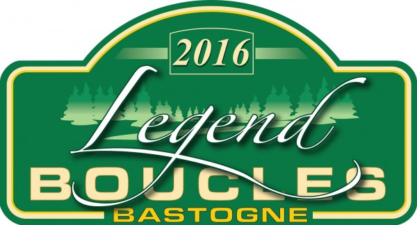 LEGENDS BOUCLES DE BASTOGNE 2016 - plaque rallye