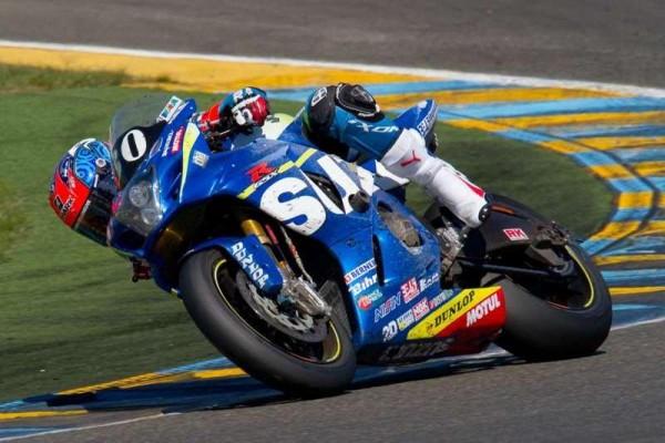 MOTO-2015-24Heures-du-Mans-Etienne-Masson-Suzuki-SERT-©-Photo-Michel-Picard