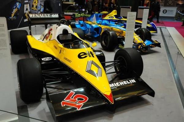 Rétromobile-2016-Renault-met-en-avant-son-histoire-lannée-de-lannonce-de-son-retour-en-F1-Photo-Charles-Emme