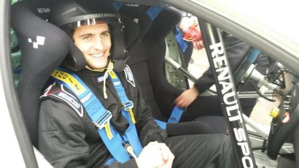 RABIOT co pilote d un jour de Pierre GASLY le 24 fevrier 2016 sur le circuit de DREUX