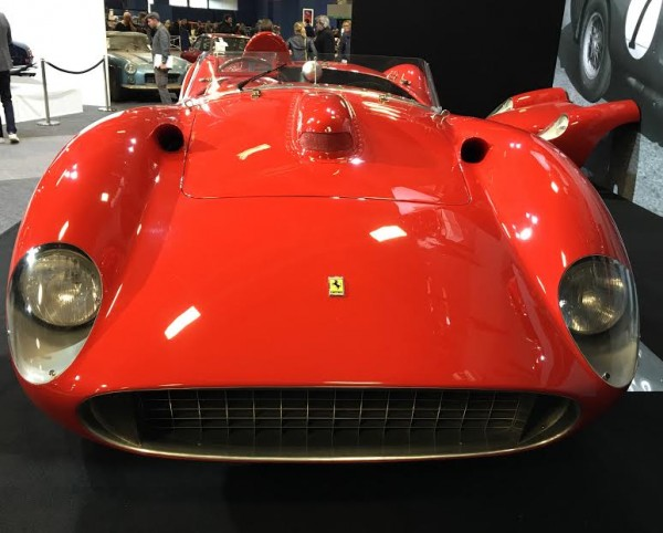 RETROMOBILE 2016 - La FERRARI 335 Sport SCAGLETTI de 1957 de la Collection BARDINON Photo Emmanuel LEROUX.