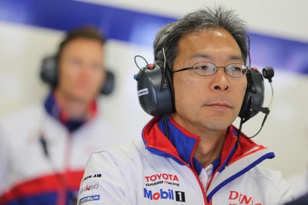 WEC 2015 - TOSHIO SATO, Patron du Team TOYOTA