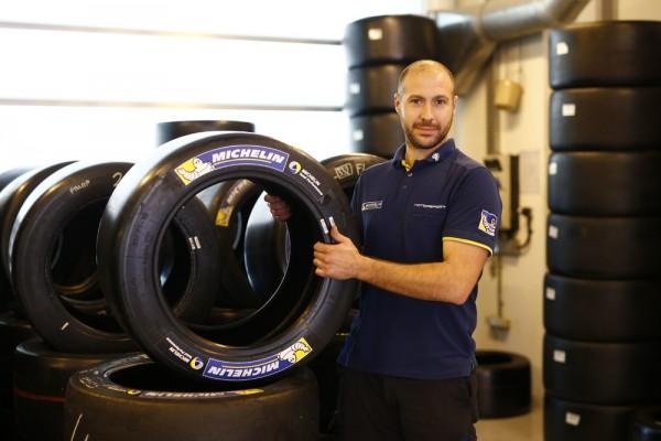 WEC 2016 - YAS MARINA ABOU DHABI - Test equipe PORSCHE - 16 fevrier - Les pneumatiques MICHELIN pôur la Porsche 919 Hybrid