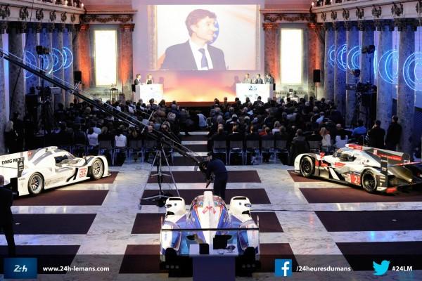 WEC ELMS 24 H du MANS 2015 Prsentation conference de presse a PARIS