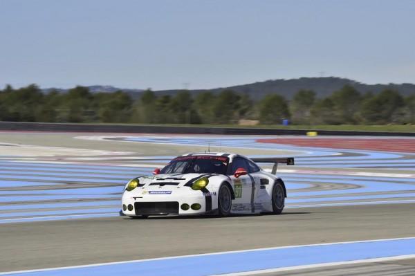 WEC. 2015 - PAUL RICARd - Essai samedi 28 Mars - PORSCHE 911 RSR N°91- Photo Max MALKA.