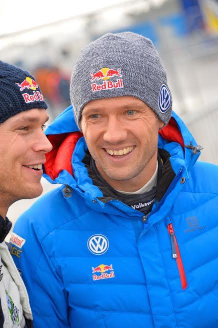 WRC 2016 SUEDE - MIKKELSEN et OGIER.