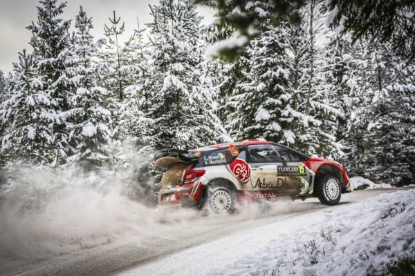 WRC 2016 SUEDE- DS3 CITROEN de Craig BREEN.