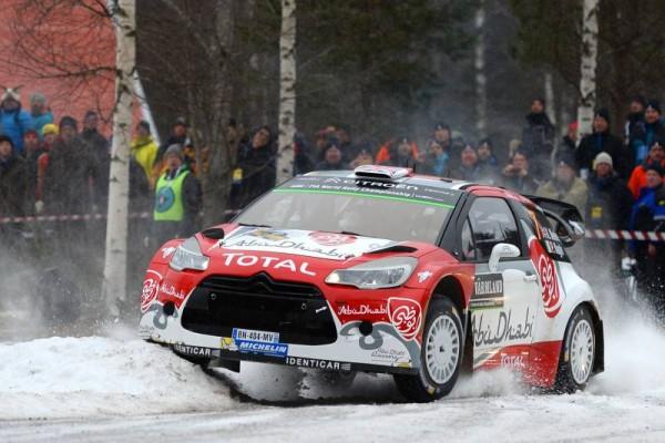 WRC 2016-SUEDE-La DS3 de KRIS MEEKE