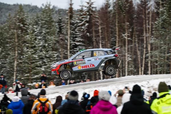 WRC 2016 SUEDE- La HYUNDAI i20WRC de HAYDEN PADDON