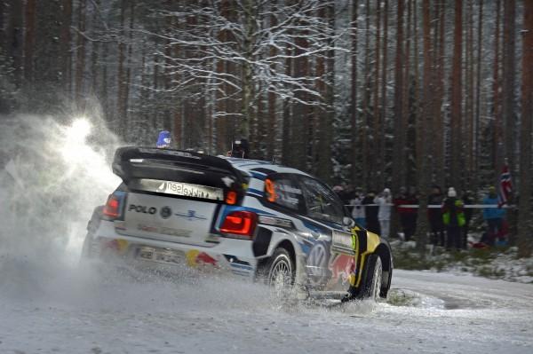 WRC 2016 SUEDE - La VW POLO WRC de Andreas MIKKELSEN