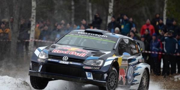 WRC 2016 SUEDE - La VW Polo WRC de Seb OGIER.
