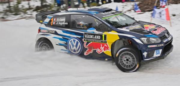 WRC 2016 SUEDE - POLO VW -SEB PGIER-JULIEN INGRASSIA