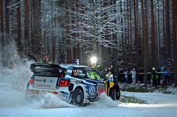 WRC 2016 SUEDE - SE OGIER VW POLO WRC.