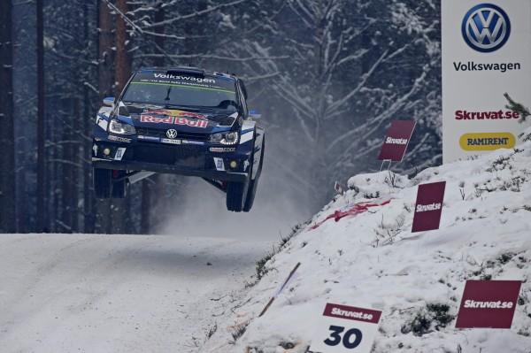WRC 2016 SUEDE -VICTOIRE de la VW POLO WRC des FRANCAIS OGIER-INGRASSIA