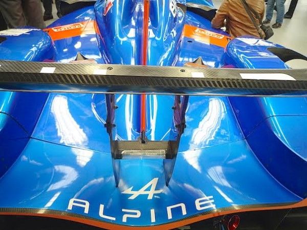 ALPINE 2014 Visite DIEPPE Team SIGNATECH - ALPINE A 450 - Photo Thierry COULIBALY.