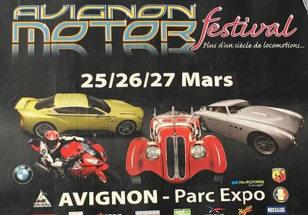 AVIGNON MOTOR FESTIVAL 2016 Affiche