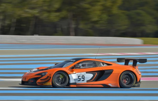 BLANCPAIN 2016 - PAUL RICARD - Essai 9 Mars - McLAREN 650S Team GARAGE 59 - Photo Antoine CAMBLOR