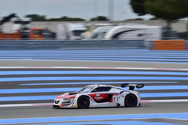 BLANCPAIN 2016 - PAUL RICARD - Essai Mercredi 9 Mars - RENAULT RS 01 du Team MONLAU Competicion - Photo Max MALKA
