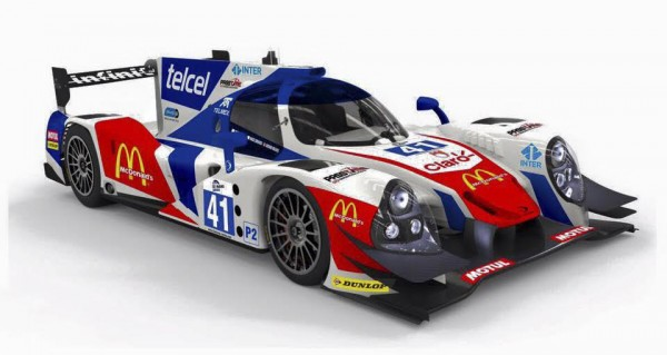 ELMS 2016 - L'ORECA 05 du Team GREAVES