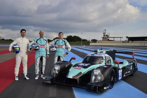 ELMS-2016-PAUL-RICARD-Test-Collectif-Lundi-21-mars-La-LIGIER-N°23-de-léquipe-PANIS-BARTHEZ-Photo-Max-MALKA-