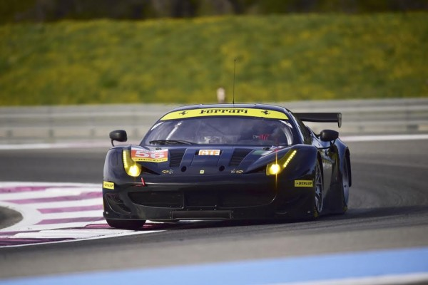 ELMS 2016 -PAUL RICARD - Test Mardi 22 Mars - FERRARI F458 Team AT Racing - Photo Max MALKA