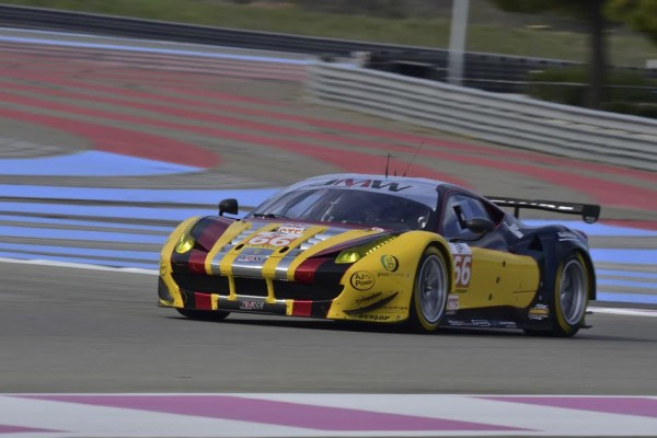 ELMS 2016 -PAUL RICARD - Test Mardi 22 Mars - FERRARI F458 du Team JMW de Robert SMITH-Rory BUTCHER - Photo Max MALKA.