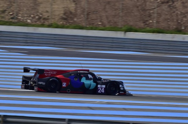 ELMS 2016 -PAUL RICARD - Test Mardi 22 Mars - LIGIER JSP3 Equipe OAK Racing de Jacques et Pierre NICOLET - Photo Max MALKA.
