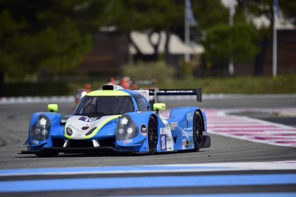 ELMS 2016 -PAUL RICARD - Test Mardi 22 Mars - LIGIER JSP3 Equipe Yvan MULLER Racing de ERHLACHER-LAURENT-COUGNAUD - Photo Max MALKA.