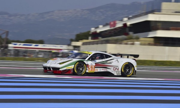 ELMS 2016 PAUL RICARD Test Mercredi 23 Mars- FERRARI AF CORSE N°51 Photo Max MALKA