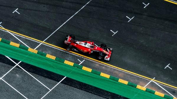 F1 2016 -MELBOURNE- La FERRARI de Sebastian VETTEL
