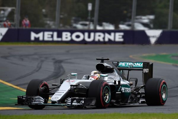 F1 2016 MELBOURNE - La MERCEDES de LEWIS HAMILTON.