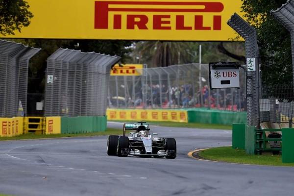 F1 2016 -MELBOURNE - La MERCEDES de Lewis HAMILTON.