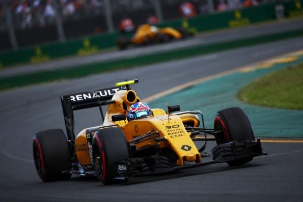 F1 2016 MELBOURNE - La RENAULT R 16 de JOLYON PALMER