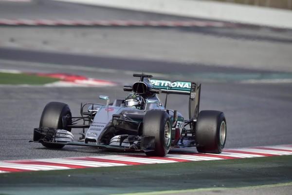F1-2016-MONTMELO-CATALUNYA-Jeudi-3-Mars-La-MERCEDES-de-NICO-ROSBERG-Photo-MAX-MALKA.