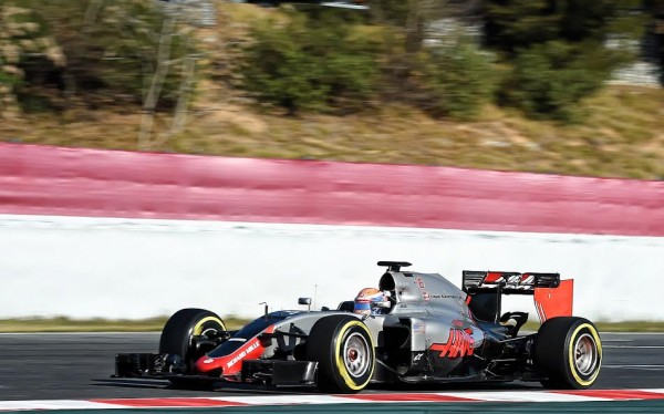 F1-2016-MONTMELO-CATALUNYA-Vendredi-4-mars-La-HAAS-de-GROSJEAN-Photo-ANTOINE-CAMBLOR