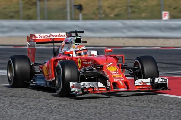 F1 2016 MONTMELO - Jeudi 3 mars-FERRARI KIMI RÄIKKONEN - Photo ANTOINE CAMBLOR