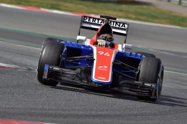 F1-2016-MONTMELO-Mardi-23-février-La-MANOR-de-Pascal-WEHRLEIN-Photo-Max-MALKA.