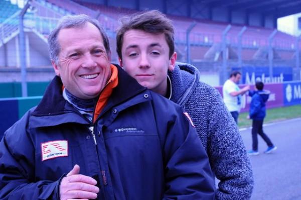 Funcup-2015-Le-Mans-Didier-et-Maxime-le-père-et-le-fils-Robin-sur-la-275-Photo-autonewsinfo.