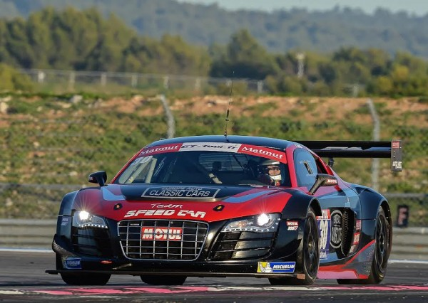 GT TOUR 2015 PAUL RICARD - AUDI de GOUJAT PETIT second en GENTLEMEN - Photo Antoine CAMBLOR